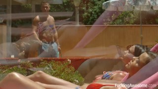 Fuckingawesome gets busty dillion stepbrother her fucked harper by cock fuckingawesome