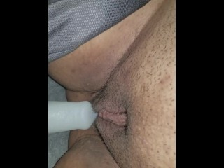 wife enjoys her new bad dragon toy