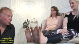 Extremely dirty feet! - watch full clip on ladykarame.net