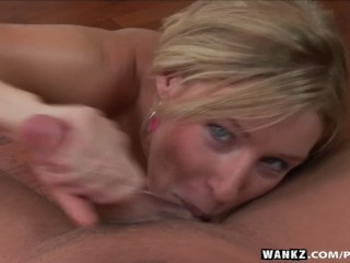 WANKZ- Allison Pierce in Pov Blowjob