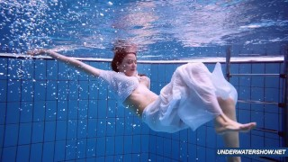 Amazing hairy underwatershow by Marketa
