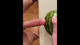 Fucking that watermelon