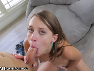 Teen From Kentucky is a little POV Cock Sucker