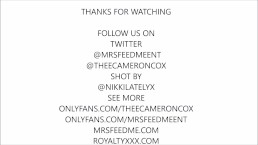@mrsfeedmeent takes on theecameroncox