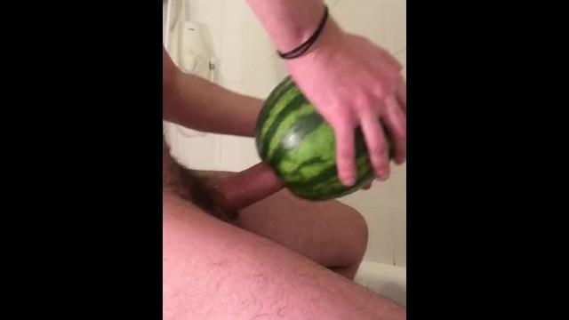 Dude fucking a watermelon koeppe hot