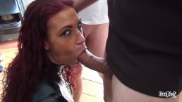 Amazing Tits Amsterdam Bukakke Latex Cumshower