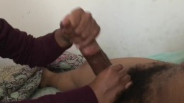 Ex girlfriend handjob big dick cumshot