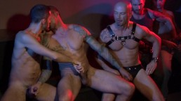 Underground sex club group cruise and fuck