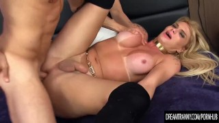 Ass hers a gaucha fucks bruna guys after he fucks transsexual blond bruna anal