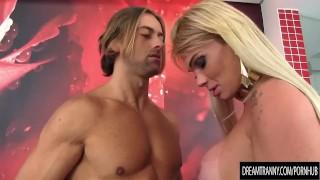 Ass hers a gaucha fucks bruna guys after he fucks transsexual blond bruna anal