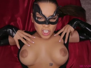 Meana Wolf - Super Villains - Cum On My Mask