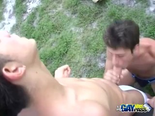 Car Wash Antics Turns Into A Blowjob Session