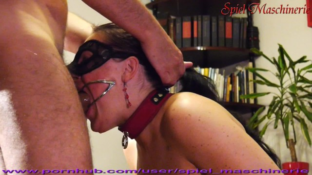 Facial abuse fritchy - Ultimate dental gag throat abusing of slut slave whore