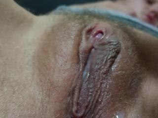 UPCLOSE throbbing cliter orgasm
