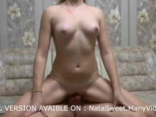 Fuck me and cum in pussy - creampie