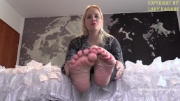 feet addiction english- watch the full clip at ladykarame.net