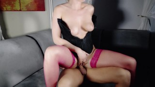 Gorgeous Kate Truu gets the best rough sex in her life Glasses amateur