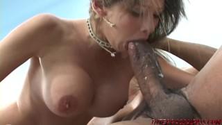 Huge tits Mom goes for big black dick of Blackzilla
