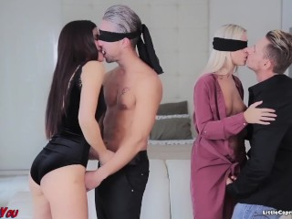 Swinger meeting – WeCumToYou Part3. – Little Caprice