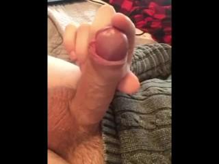 Tasting my Pre Cum