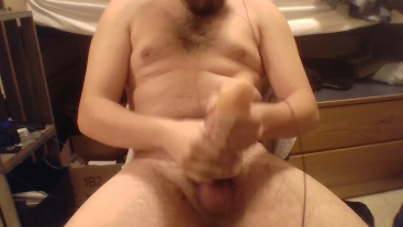 Jerking off with my toy