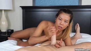 Petite Asian Teen Handjobs Big Dick