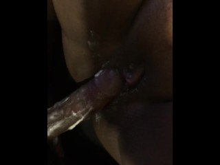 Super wet creamy pussy and she had a orgasm
