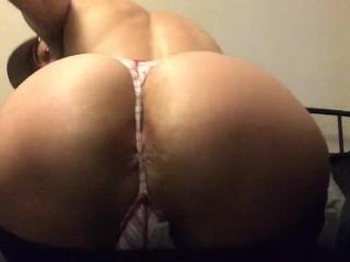 thong in my fat ass