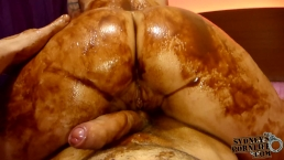 Big Ass in Chocolate Messy Fuck!