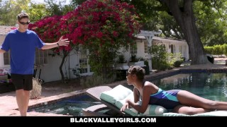 Coach teen swim fucks prissy blackvalleygirls ebony cumshot outdoors