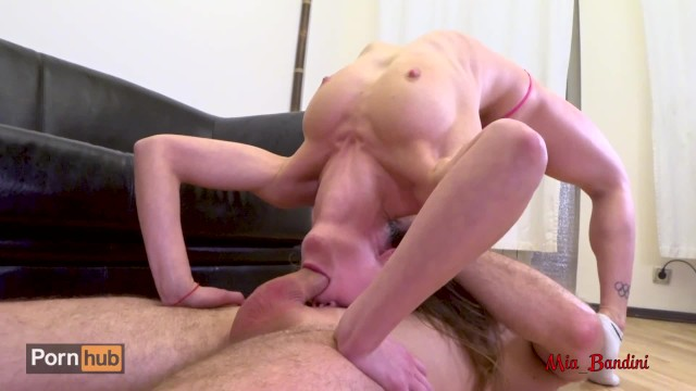 Naked gymnastic sex Teen gymnast ass to mouth fucked by coach with anal creampie. mia bandini