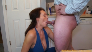 With attitude milf  an part big facial