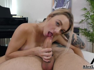 Hot Girl Next Door Teen Molly Mae Gets Her Face Covered In Cum!