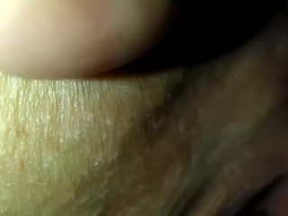 wet close up