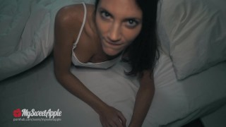 Preview 2 of Sleeping girl with big ass gets fucked from behind - MySweetApple