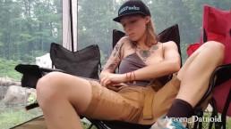 Public Masturbating Camping