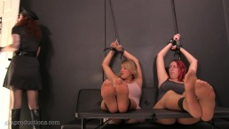 Amazon Vanessa Rain & Megan Jones Tickled & Interrogation By Ginary