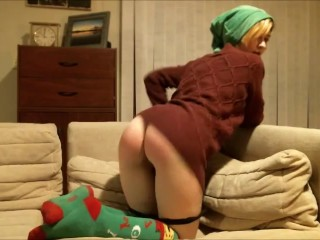 Happy Holidays Special: Santa's Naughty Helper Needs Punished via Spanks