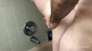 PAINAL Submissive Girl Gets Her Tight Little Ass Fucked In The Shower Blowjob wwe