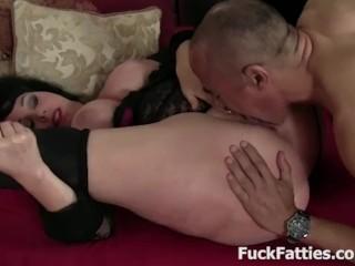 Beautiful fat chick cock...