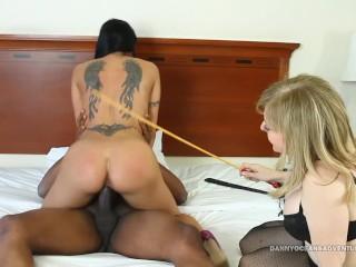 DOCEAN - 2 MILF Sluts Fucked and Creampied by Black Dick