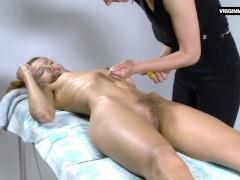 Lika Volosatik sexy hairy massage