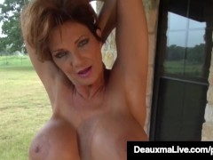 - Busty Cougar Deauxma O...