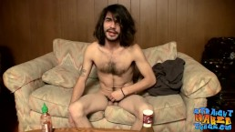 Devin Reynolds likes to jerk off after lunch at home