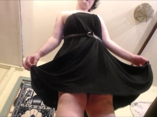 Giantess Stripteases with Ass and Dirty Feet POV