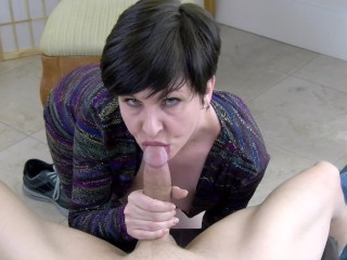 Your cocksucking marriage counselor and sloppy oral creampie...