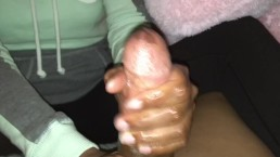 Power in hands 2. . Ex girlfriend handjob cumshot