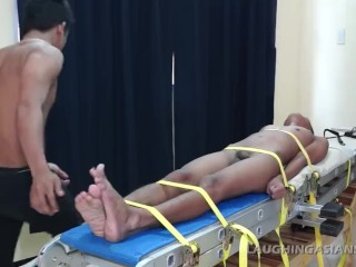 Asian Twink Benjamin Loves Getting Tickled