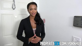 PropertySex - Hot property manager fucks pissed off tenant Hands big