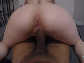 HD 4K Horny Blonde Knows How To Ride BBC
